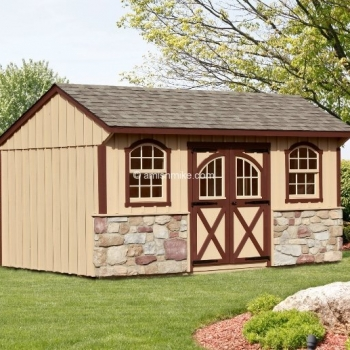 10' x 16' Carriage House