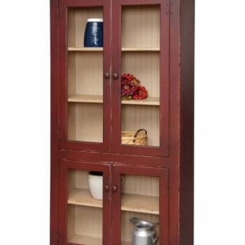 HB-23-K Large Curio Cabinet 36wx72hx14d
