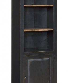 J-115 One Door Bookcase 27 1/2wx14dx72h