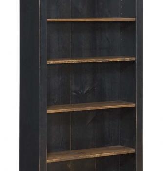 J-118 Large Bookcase 40wx14dx72h