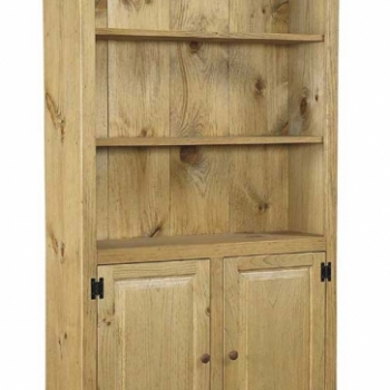 J-19 Large Bookcase with Doors 40wx14dx72h