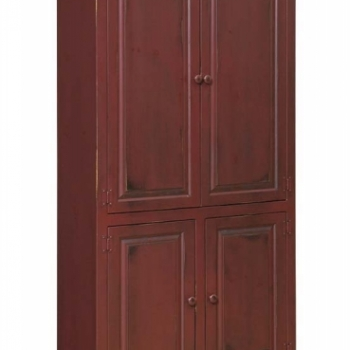 J-192 Large Bookcase with Solid Doors 40wx14dx72h