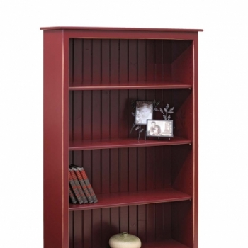 K-1391-5ft Bookcase 38wx12 3/4dx60h