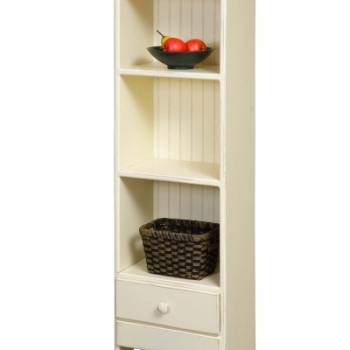HB-17 Bookcase with Drawer 16wx51hx10d