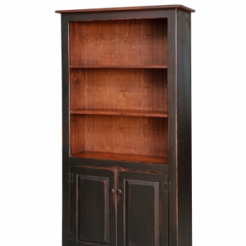 HB-20-2 6' Bookcase with 2 Doors 36wx72hx14d