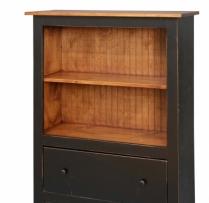 HB-22-1 4' Bookcase 36wx48x14d