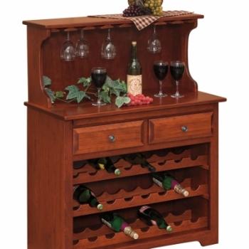 """LP- 102-Wine Cabinet 37 1/2"""" W 18"""" D 48 1/2""""H"""