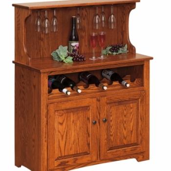 """LP-104-Wine Cabinet 37 1/2"""" W 18"""" D 48 1/2""""H"""