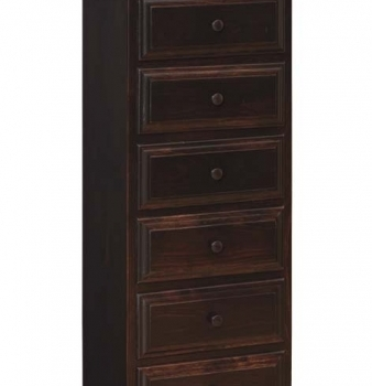 IE-45 6 Drawer Chest 22 /12wx14 1/2dx53 /14h