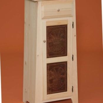 DR-534 One Door Pie Safe 20 1/4wx15 1/4dx69h