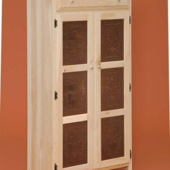 DR-538 Tall 2 Door Pie Safe 18wx16 1/4dx61 3/4h