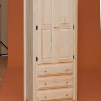 DR-708 Linen Cabinet with Drawer 31wx17dx70 3/4h