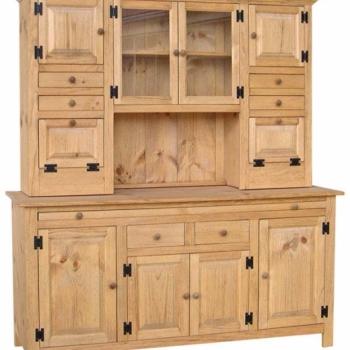 J-3 Large Hoosier Cabinet 66 1/2wx22dx75h