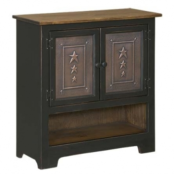 IE-122TO Double Hall Cabinet with Tin 32wx12 1/2dx33h