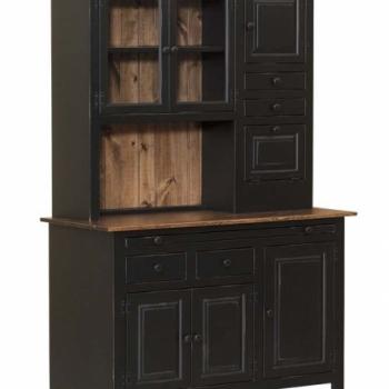 J-4-Medium Hoosier Cabinet 50 1/2wx22dx75h