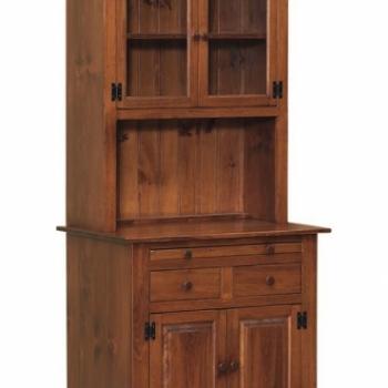 J-5 Small Hoosier Cabinet 2 34wx22dx75h
