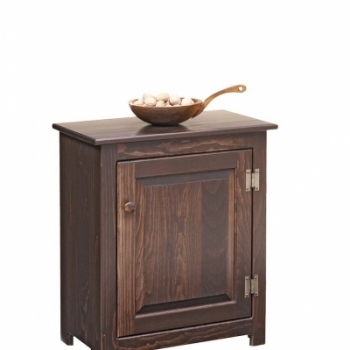 K-1343-End Table 21 1/2wx 12 3/4dx26h