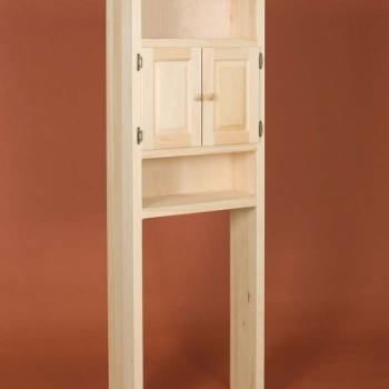 DR-297 2 Door Toilet Cabinet 26 3/4wx11 1/2dx71h