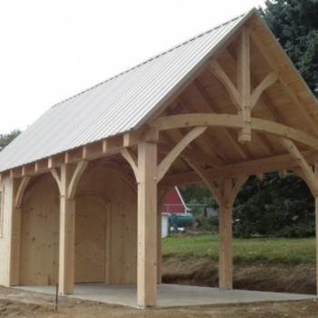 14x20-timberframe-pine-siding-raised-walls-and-pitch
