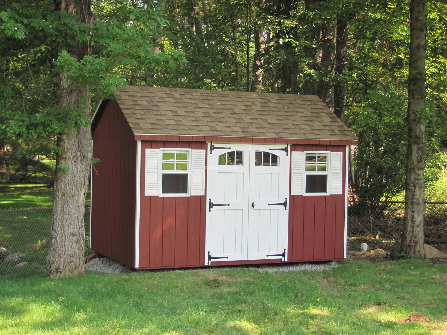 Traditional Series Cape Cod Sheds Amish Mike Amish