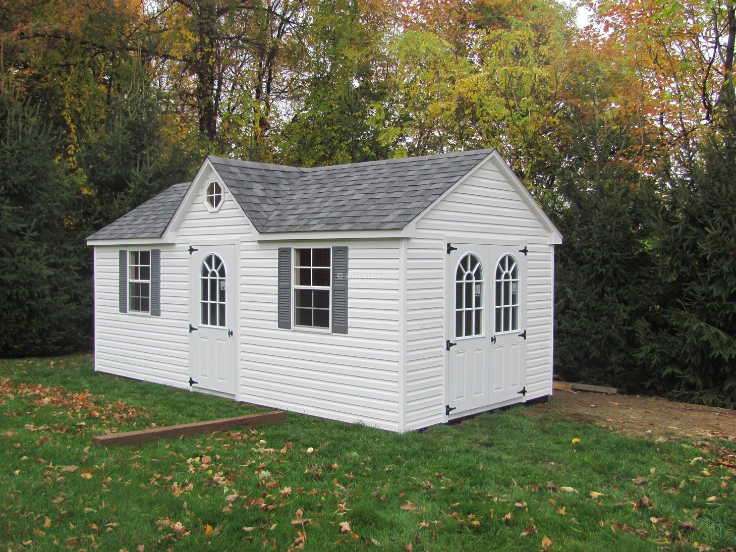 Traditional series cape cod sheds amish mike amish for Cape cod dormer