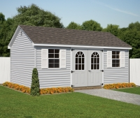 10x18 Vinyl Cape Cod Shed
