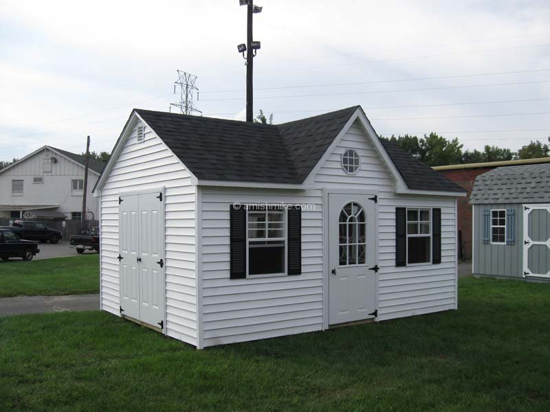 Traditional series cape cod sheds amish mike amish for Shed dormer house plans