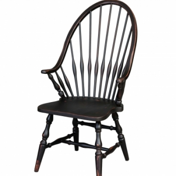 HB-36-A Windsor Arm Chair 20wx41hx18d