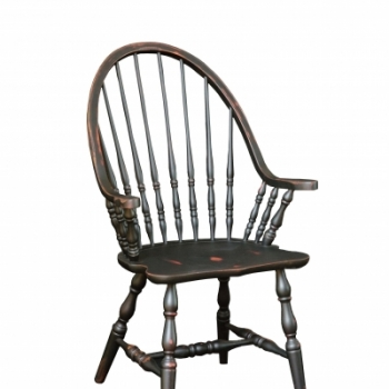 HB-36-C Windsor Arm Chair 20wx41hx18d