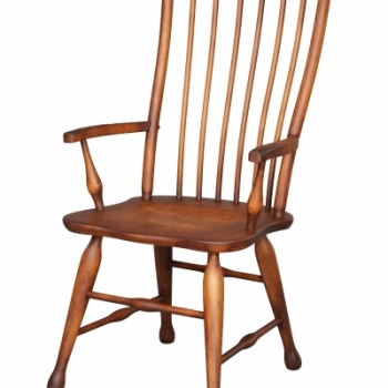 HB-36-H Lodge Arm Chair 22wx41hx18d