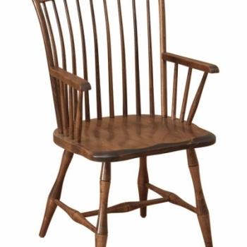 K-1505-Thumb Back Arm Chair 22 1/2wx21 1/2dx36h