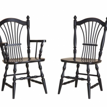 K-1508-1509 Wheat Back Chairs 24wx22 1/2dx38h