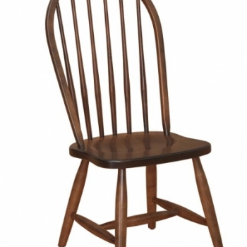 K-1520-6 Spindle Side Chair 18 1/2wx17 1/2dx41h