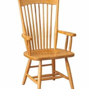 K-1525-Farmers Arm Chair 23 1/2wx17 1/2dx42h