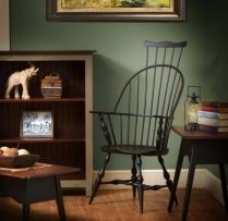 HB-35-B Comeback Arm Chair 24wx44hx17d