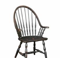 HB-36-C Windsor Arm Chair 20wx41hx18d