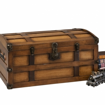 Steamer Trunk Maple 36Lx20Wx18H