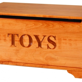 Toy Chest Maple 36.5Lx17.75Wx17.75H