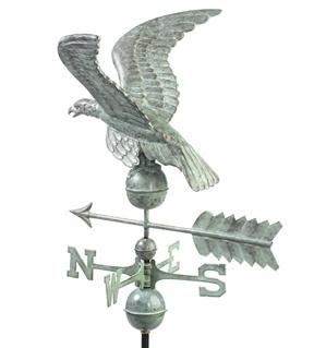0955V1A - Smithsonian Eagle - Blue Verde