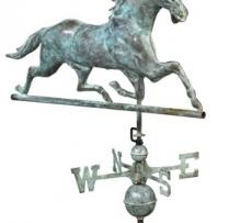 580V1A - Horse - Blue Verde