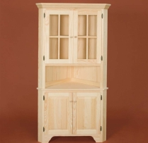 DR-365 X-Large Corner Hutch 40wx19 1/2dx73 1/4h