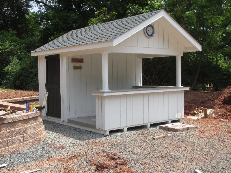 Custom Pool Houses Amish Mike Amish Sheds Amish Barns