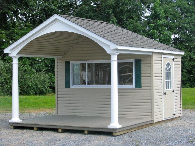 10 X 16 Custom Pool House 0