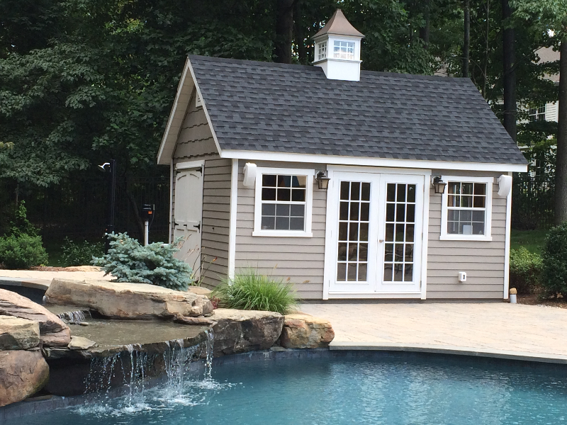 custom pool houses amish mike amish sheds amish barns sheds nj sheds barns. Black Bedroom Furniture Sets. Home Design Ideas