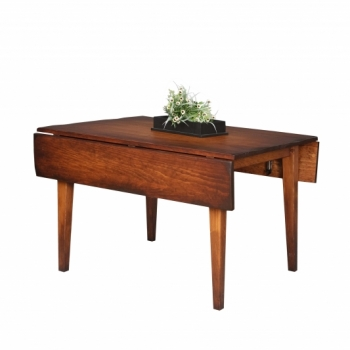 HB-25-S 4' Farm Table with 2-8 1/2 Drops 36w with drops down