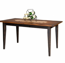 HB-25-B 5' Farm Table 36wx60l