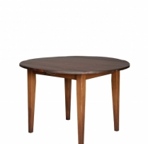 "HB-25-J 4' Round Harvest Table 48"" Round"