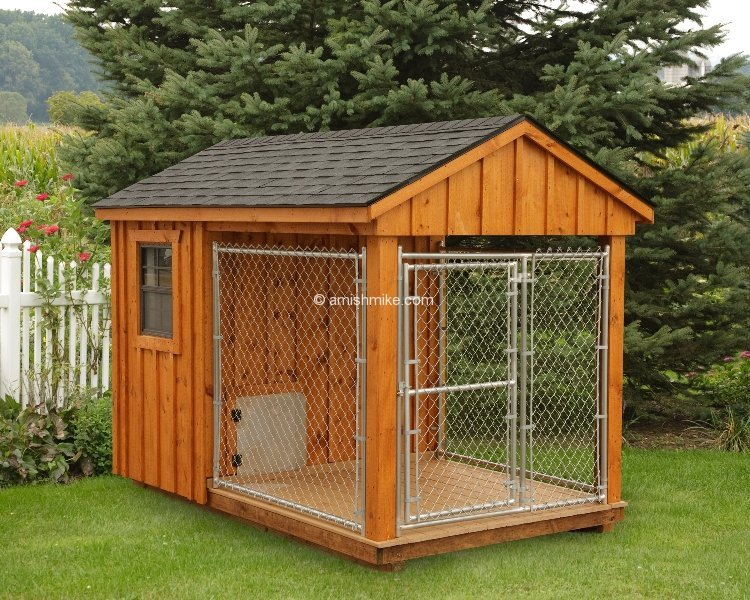 A frame chicken coops and dog kennels wooden amish mike for The dog house kennel