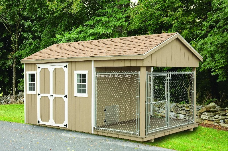 Tuff shed dog house lidya for Tuff shed dog house
