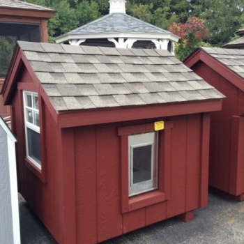 4' x 4' Dog Cabin